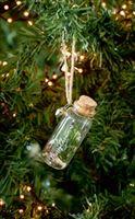 Merry Christmas Pine Bottle Ornament
