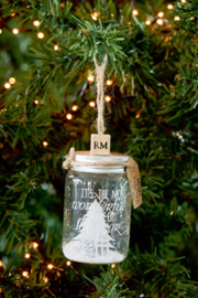 Most Wonderful Time Bottle Ornament