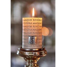 Rivièra Maison Letter Candle silver 7x10