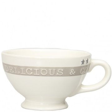 Bastion Collections Mini Jumbocup Delicious&Co White