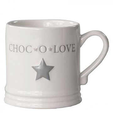 Bastion Collections Mug Large Choc'o Love White