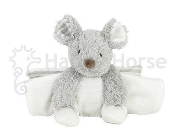 Happy Horse Mouse Missy Foldable Tuttle/knuffeldoekje