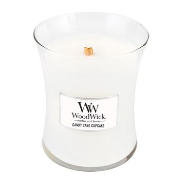 Woodwick Medium Candle Candy Cane Cupcake