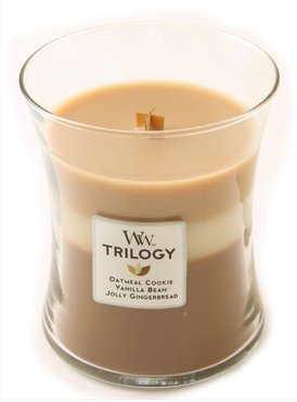 Woodwick Medium Candle Spiced Confection Triology