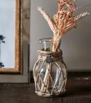 riviera maison rustic rattan mini flower vase