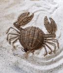 Rustic Rattan Crab