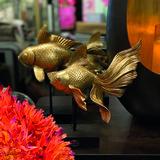 riverdale ornament gold fish