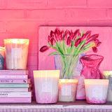 Riverdale Geurkaars Peach Blossom Medium_