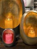 egg candle black large
