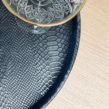 sizland dezign grey snake dienblad