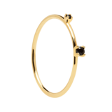 pd paola black kita gold ring