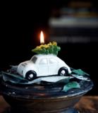 Happy Beetle Candle