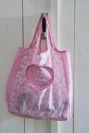 Riviera Maison Heart Fordable Bag
