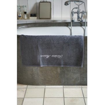 Riviera Maison Bath Towel 70x140 Grey