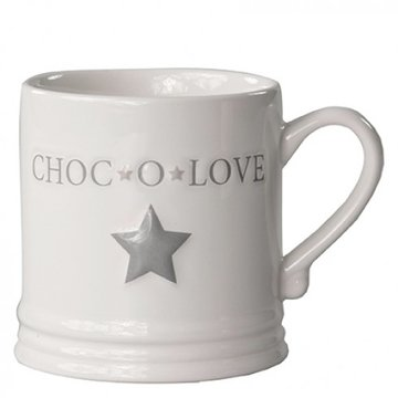 Bastion Collections Mug Large Choc'o Love White