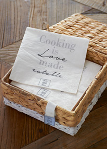 Riviera Maison Cooking is Love Paper Napkin