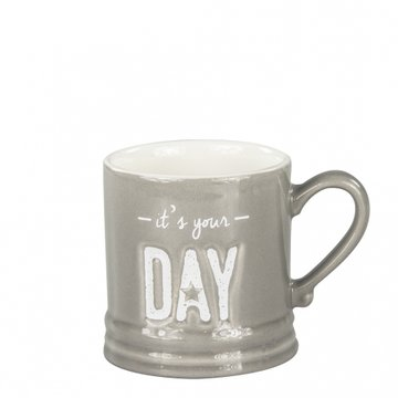 Bastion Collections Mug Small Titane/it's your Day