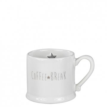 Bastion Collections Mug Small White Coffee Break