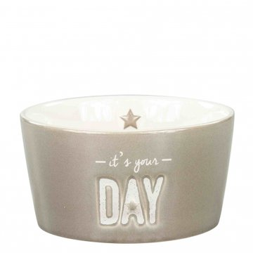Bastion Collections Bowl 13,5cm Titane it's your DAY