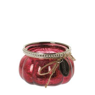 Riverdale Sfeerlicht Flower Rood 8 cm
