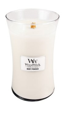 WoodWick® Large Candle Baby Powder Fragrance Of The Month