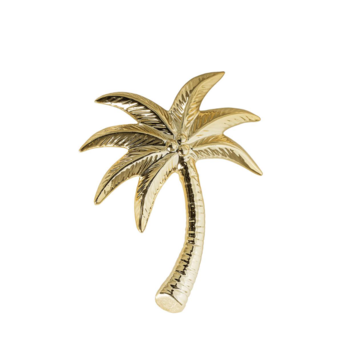 Bloomingville Palmtree Element Gold