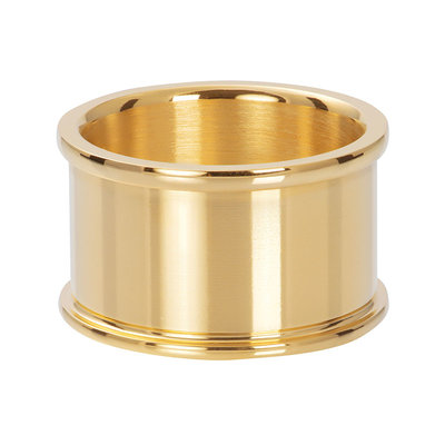 IXXXI Jewelry Basisring Goud 12 mm