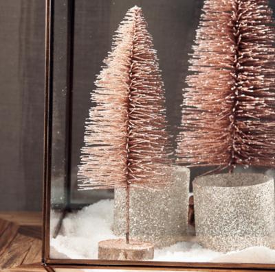 Riviera Maison Sparkling Snow Tree Dusty Pink S