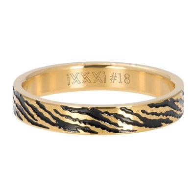IXXXI Jewelry Vulring Zebra Goud 4 mm