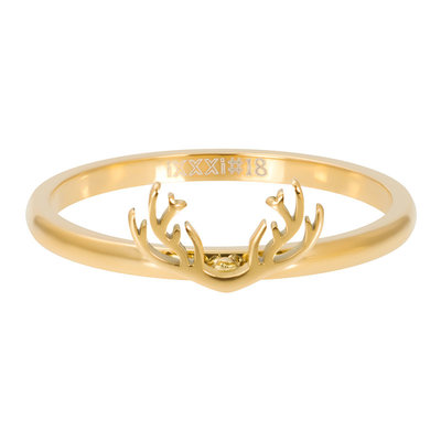 IXXXI Jewelry Vulring Symbol Antlers Goud 2 mm