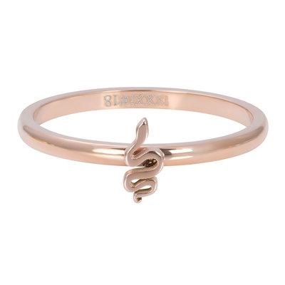 IXXXI Jewelry Vulring Symbol Snake Rose 2 mm