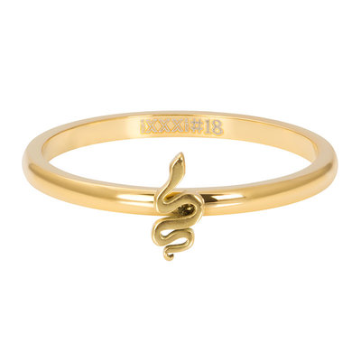 IXXXI Jewelry Vulring Symbol Snake Goud 2 mm