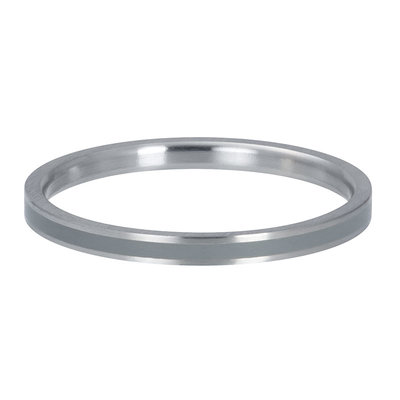 IXXXI Jewelry Vulring Line Grey 2 mm