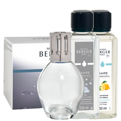 Lampe Berger Giftset Essentielle Ovale