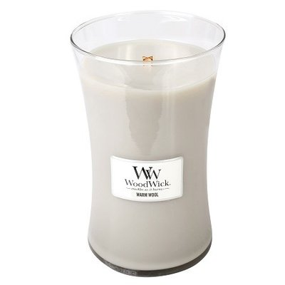 WoodWick Candle Large Warm Wool