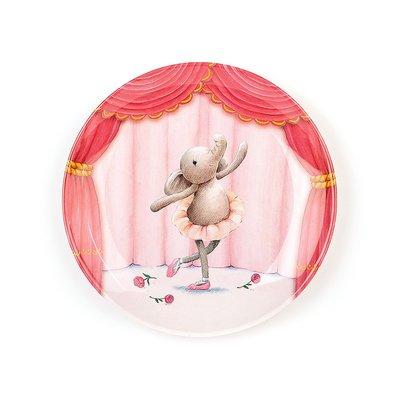 Jellycat Elly Ballerina Melamine Plate