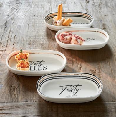 Riviera Maison Tasty & Delicious Tapas Bowls | 4 Stuks