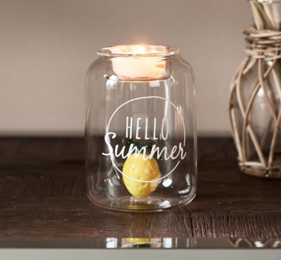 Riviera Maison Hello Summer Fillable Votive