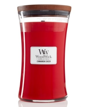 WoodWick Candle Large Cinnamon Cheer
