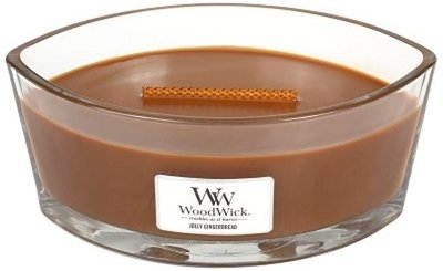 WoodWick Candle Ellipse Jolly Gingerbread