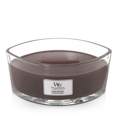 WoodWick Candle Ellipse Sueded Sandalwood
