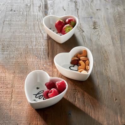 Riviera Maison Lovely Heart Bowls | 3 Stuks
