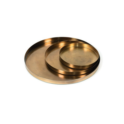 Plate Vintage Gold Medium