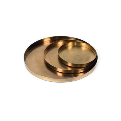 Plate Vintage Gold Large