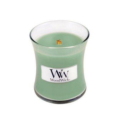 WoodWick Candle Mini White Willow Moss