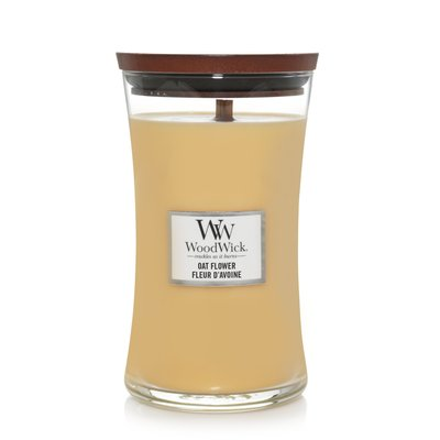 WoodWick Candle Large Oat Flower