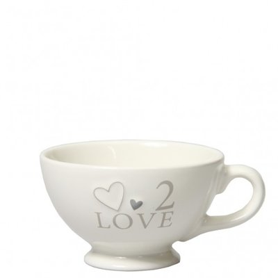 Bastion Collections Jumbocup White 2 Love