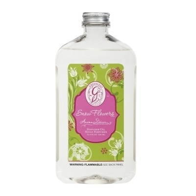 Greenleaf Gifts Snow Flowers Diffuser Oil