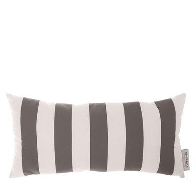 Riverdale Kussen Stripe White/Grey