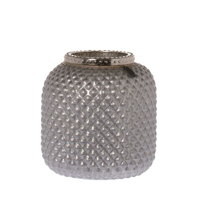 Riverdale Sfeerlicht Oxford Mat Zilver 20 cm